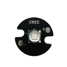 Epileds 5050 XML 8W UV Purple 395NM - 400NM Led Emitter Lamp Light 3.4-3.8V 2600mA On 16MM/20MM Black PCB Board(China)