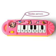 2017 HOT New Useful Popular Baby Kid Piano Music Developmental Cute Toy Y7824(China)