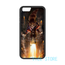 For Guardians of the Galaxy Rocket Raccoon Firing case cover for iphone 4 4S 5C 5 5S SE 6 6S 6 plus 6s plus 7 7 Plus #pa338