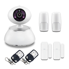 Buy Wireless Burglar Home Alarm WIFI Video IR IP Camera Ip cam House Security System APP contyrol for $84.50 in AliExpress store