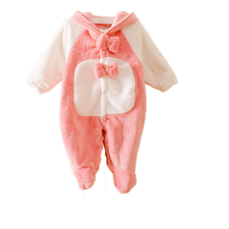Newborn Baby Romper Winter  Warm Baby Romper Infant Clothing Newborn Winter Baby Clothing  Boy Girl Rompers Jumpsuit Overalls<br><br>Aliexpress
