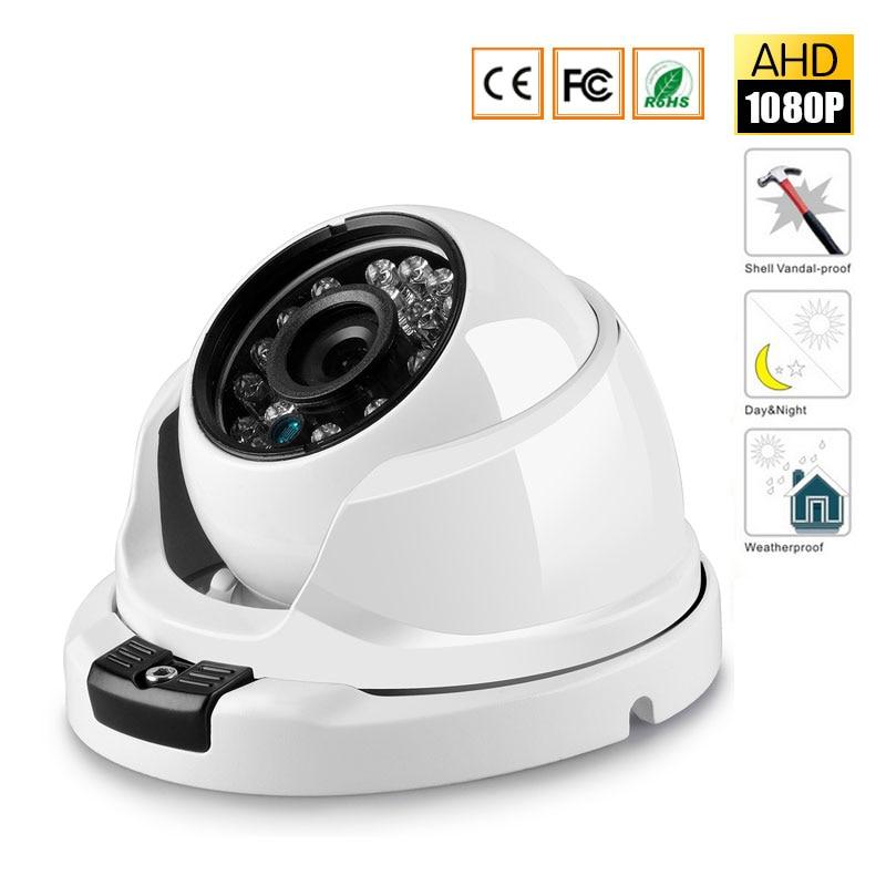 HD 1080P Security Camera 2MP AHD Surveillance Camera Metal Dome Infrared 20M Night Vision Vandalproof CCTV Camera<br>