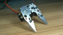 Robot Small Metal Mechanical Gripper Mechanical Clutches for RC car rc hobby free shipping