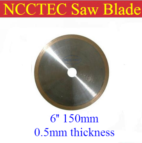 [ 0.5mm thickness] 6 150mm Kerf ultra THIN Rim Diamond resin bond Saw Blade FREE shipping | save your materials and money<br><br>Aliexpress