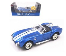 1:26 Ford 1965 Shelby Cobra 427S/C Metal Diecast Model Toy Car Blue New In Box