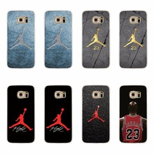 NBA Star Flyman Michael Jordan Soft TPU Silicon Case For Samsung Galaxy S5 S6 S7 Edge A3 A5 J5 J7 A310 A510 J510 J710 2016 Cover
