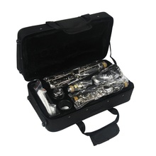 PC client version classical falling tune B clarinet, drop B 17 key nickel plated playing instrument