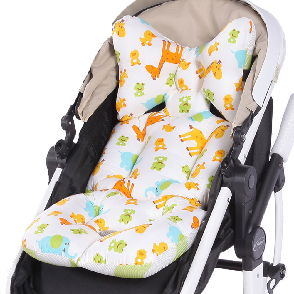 Stroller High Chair Seat Cushion Liner Mat Pad Protector Car Seat Padding Liner for Baby