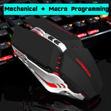 The new game mechanical mouse CF professional gaming lol cable macrodefinition metal plate increase luminescence