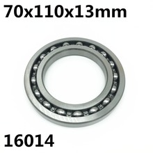 16014 7000114 Thin type ball bearings 70x110x13 mm For Ciclop 3D Scanner Printer Rotative Bearing(China)