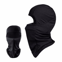 Black Balaclava Breathable Military Tactical Head Cover Motorcycle Bicycle Army Airsoft Paintball Helmet Gear Full Face Mask