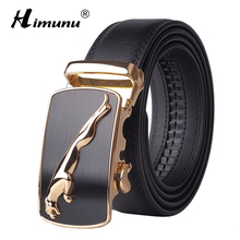 2016 New Designer Automatic Buckle Cowhide Leather men belt Fashion Luxury belts for men designer belts men high quality(China)