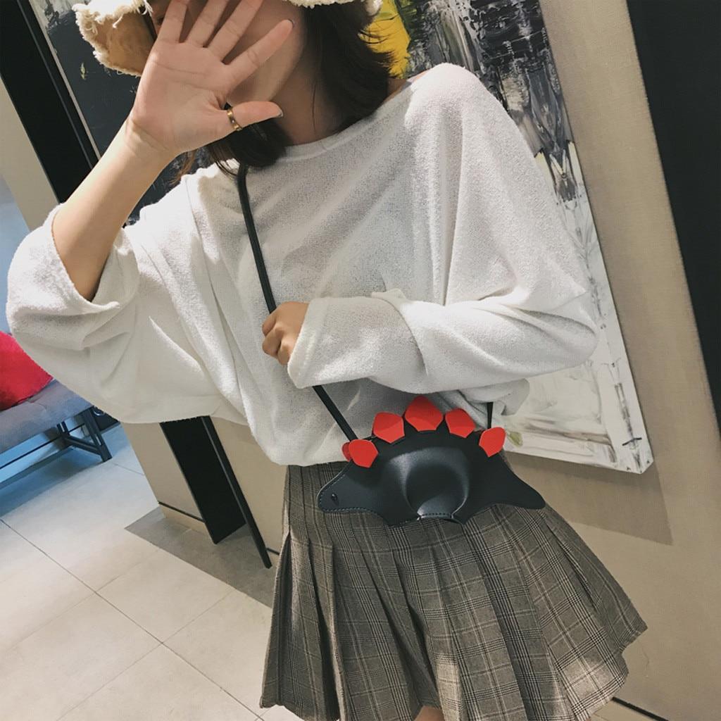 AU/_ Crab Shape Solid Color Lady Faux Leather Twist Lock Crossbody Shoulder Bag N