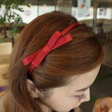 LNRRABC   6 Colors Women Hairbands Girls Charm Elegant Lovely Bow Design HairBand Headbands Hair Hoop Ornaments Accessories