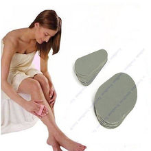 80 Bonus Pads Smooth Legs Away Hair Remover Exfoliator 14274(China)