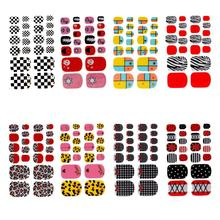 15 Pattern Nail Art Water Transfer Wraps Stickers Polish Foils Decals DIY Tips Decoration 2JY21