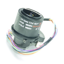 2.8-12mm Lens Motorized Zoom Motorized Focus 2.0 MegaPixel MTV D14 Mount Infrared Night Vision Lens For CCTV Security Camera