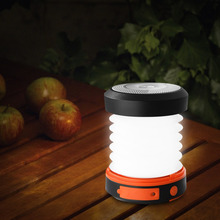 Suaoki Camping LED Lantern USB&Solar Rechargeable Collapsible Light Mini Flashlight Torch Light Waterproof Lantern for Camping