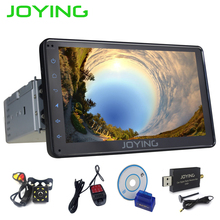 JOYING 1 DIN 7'' touch screen Android 6.0 car radio head unit stereo gps navi tape recorder with rear view camera DVR DAB+ OBD2