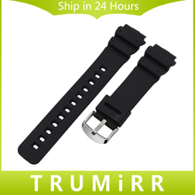 Silicone Rubber Strap for Casio EF Electronic Watch Band Sport Belt Waterproof Wrist Bracelet 12mm 16mm 17mm 18mm 19mm 20mm 22mm