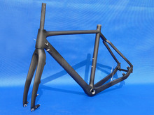 Toray Carbon Bicycle Cyclocross Frame Brand New Full Carbon Cyclo Cross Racing Bike Frame And Fork(China)