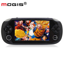 MOGIS G5 Portable Handheld 32 Bit Game Console Multimedia MP5 Media Player Game Player For NES/GBA Games 8G 4.3 Inches LCD(China)