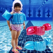 Child Inflatable Swim Vest Arm Float Ring Baby Swimming Circle Ring Infant Float Neck Swim Trainer Swimming Pool Accessories