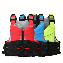 Adult lifejacket swimsuits surfing buoyancy lifesaving vamps water rafting boats life saving vests life vest(China)