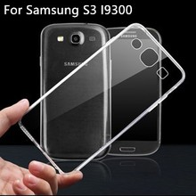 For Samsung Galaxy S3 i9300 Case Soft Ultra Thin Clear Transparent TPU Full body Protective For Sansung S 3 i 9300 Phone Case