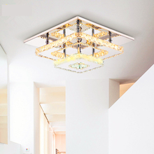 Modern Crystal LED Ceiling lights Fixture For Indoor Lamp lamparas de techo Surface Mounting Ceiling Lamp crystal celling lamp