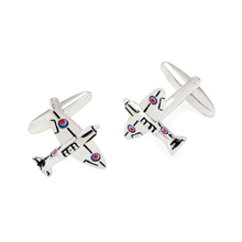 Airplane Cufflinks Custom Engraved Cuff Link Fancy Gifts(China)