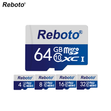 Reboto memory card 8GB 16GB 32GB 64GB Micro SD Card Class 10 UHS-1 TF Carte Microsd Flash SD Card 4GB Clss6 Sd Card
