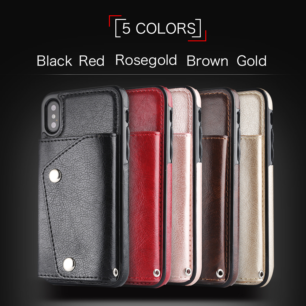 Wisecoco-Fashion-Luxury-Leather-Case-For-iphone-X-10-Wallet-Card-Holder-Cover-Protection-Phone-Bag (5)