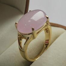 latest design jewelry lady's favourite 18KGP light purple  jades  ring (7,8,9#)