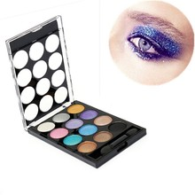 Pro 12 Different Colors Eyeshadow Cosmetics Mineral Natural Eye Shadow Palette Glitter Makeup Beauty Tools