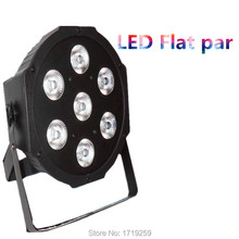 Fast Shipping American DJ Stage Lightings Disco LED Light Wash RGB Uplighting LED SlimPar Tri 7x9W LEDs ,SHEHDS Stage Lighting(China)