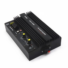 PA-80A 12V 1000W High power car stereo subwoofer amplifier board with installation box for 8-12 inch speaker
