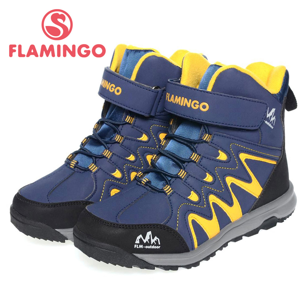 FLAMINGO high quality fashion winter childrens shoes for boy 2015 new collection anti-slip snow boots 52-NC423<br><br>Aliexpress