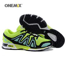ONEMIX Mens Running Shoes 2016 New Chaussures pour hommes Knitting Women's Athletic Shoes  Outdoor Walking Sport Shoes