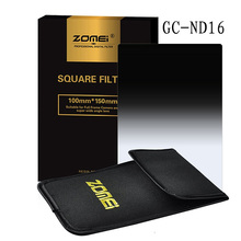 ZOMEI ND16 Graduated Gray Square Filter Z-PRO Series 150*100mm for Cokin Z Lee Hitech 4X6'' Holder