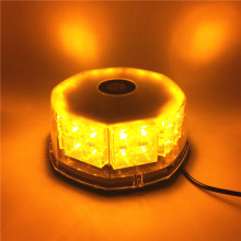 32 LED Amber Car Auto flash Beacon Lights Yellow LED Emergency Hazard Warning Strobe Light with Magnetic Base