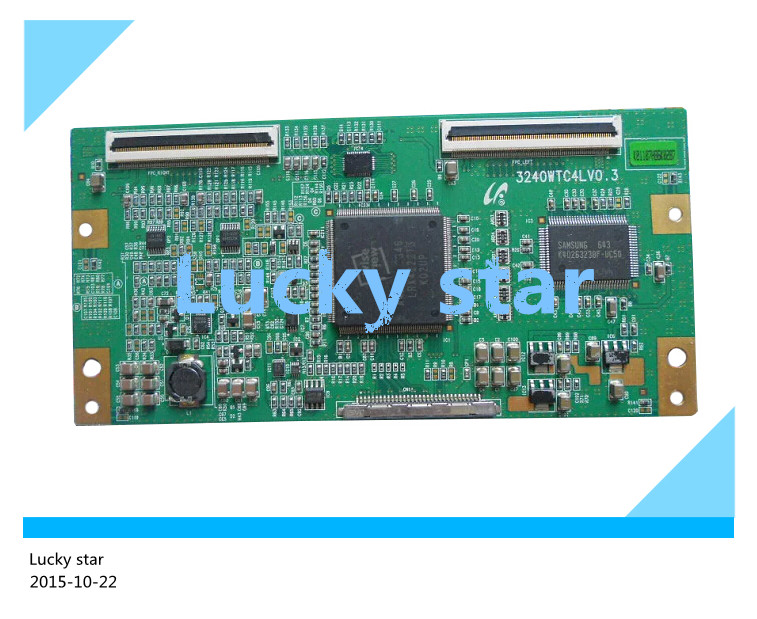 98% new good working High-quality original for board 3240WTC4LV0.3 board For LA40R71B LTA400WT-L01  T-con logic board<br>