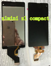 Touch Panel Screen LCD Display Assembly For Sony Xperia Z1 mini Compact D5503 M51W Replacement Part +Tools+ glue