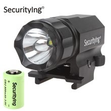 SecurityIng XP-G R5 LED Tactical Gun Flashlight 600 Lumen Aluminum LED Torch Flash Light + 3.0V CR2 Battery