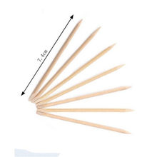 5Pcs sets Professional Nail Art Orange Wood Stick Cuticle Pusher Remover Pedicure Manicure Tool(China)