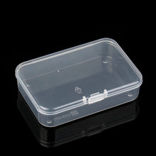 2016 New 5pcs/set Jewelry carrying cases Jewelry Storage Box Case Transparent Plastic finding Craft Organizer bags Beads F3076(China)