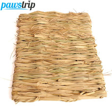 Rabbit Grass Mat Handmade Small Animal Hamster Gerbil Cage Mat S/L