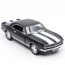 Brand New KiNSMART 1/36 Scale 1967 Chevrolet Camaro Z/28 Diecast Car Model Metal Pull Back For Kids Gift Toy Collection(China)