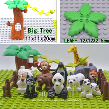 Compatible Lego Duplo Building Parts Animal Figure Baby Toys 0 12 13 24 Month Girls Boys Toys 6 Years Educational Blocks )