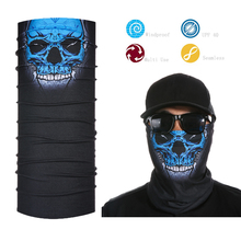 Multifunctional Tube Bandana Skull Face Shield